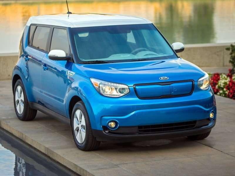 2015 Kia Soul EV: 2014 Chicago Auto Show