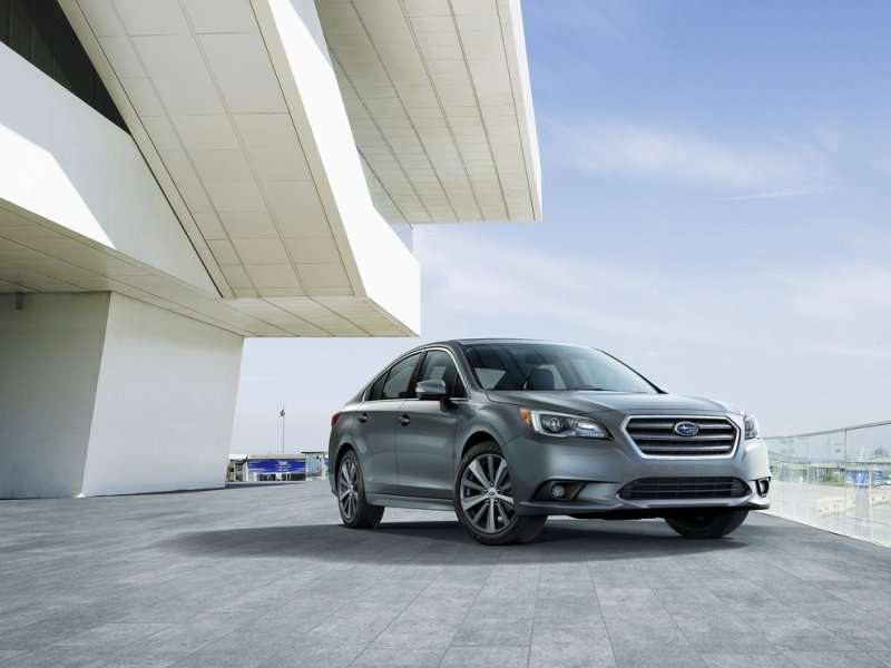 2015 Subaru Legacy Preview: 2014 Chicago Auto Show