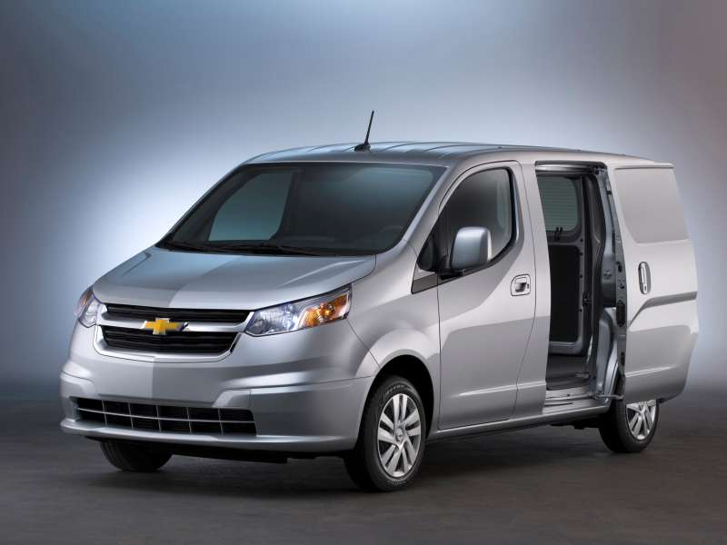 2015 Chevrolet City Express Preview: 2014 Chicago Auto Show