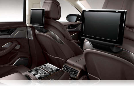 What Is Audi Rear Seat Entertainment?