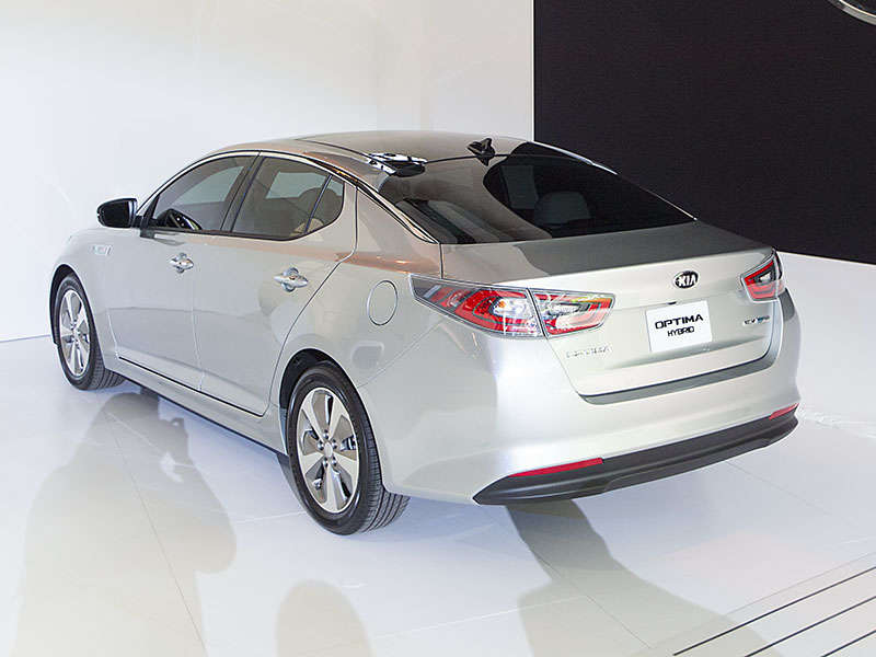 New 2014 Kia Optima Hybrid: 2014 Chicago Auto Show