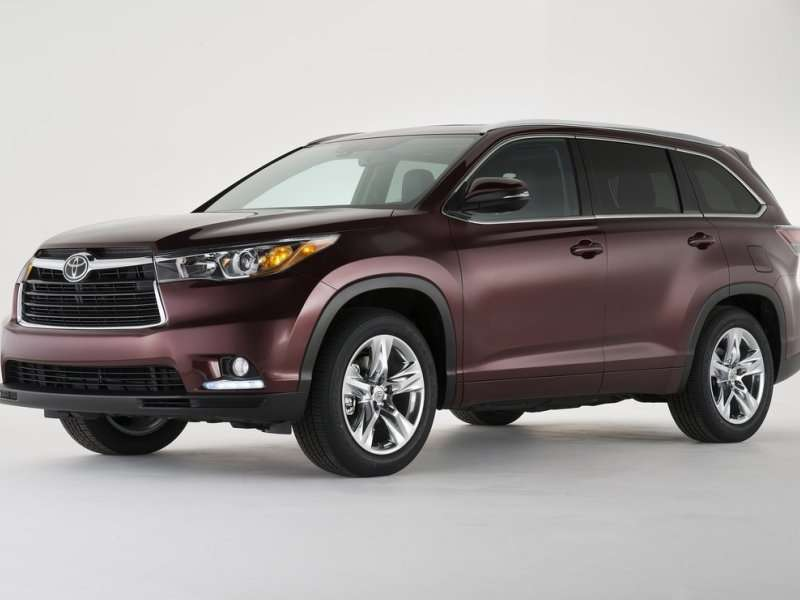 best 7 passengers suvs 05 2014 toyota highlander the 2014