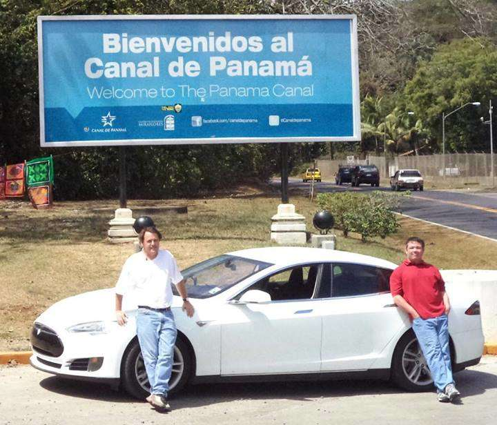 Tesla Model S Tackles Texas to Panama Road Trip