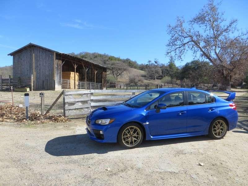 First Drive - 2015 Subaru WRX STI
