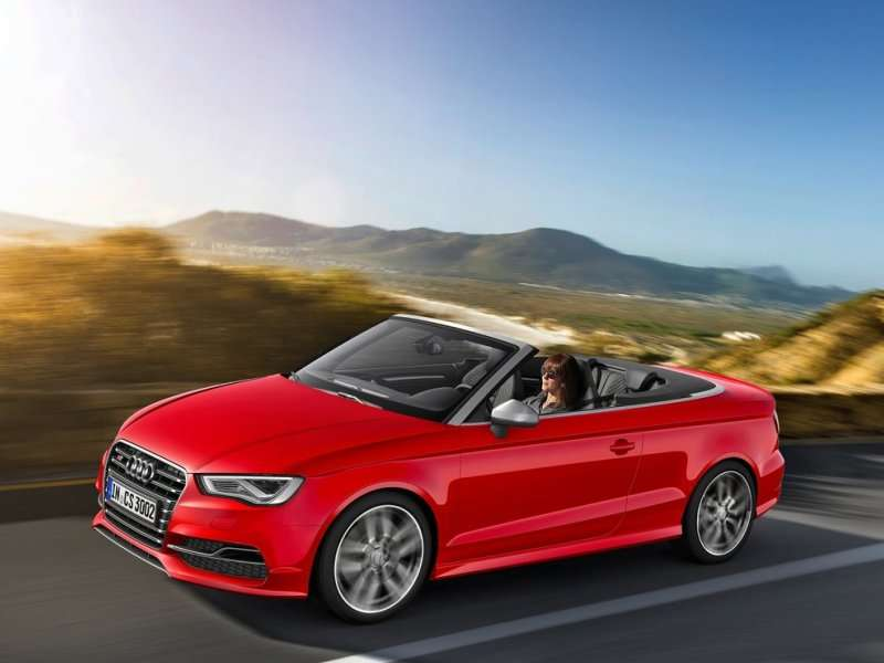 2015 Audi S3 Cabriolet Will Debut in Geneva