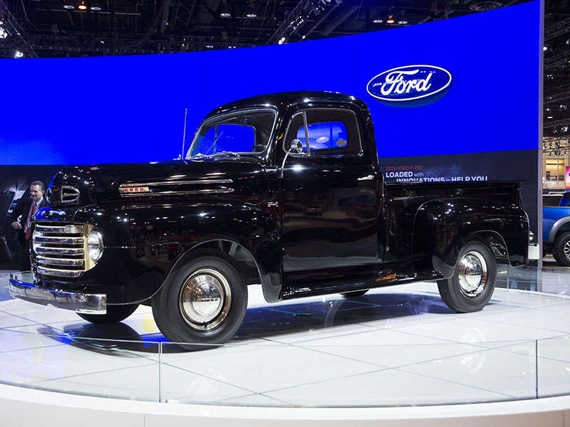History of Ford Trucks and SUVs in Photos