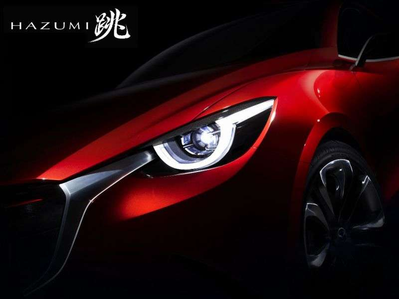 Next-gen Mazda Mazda2 Concept to Debut in Geneva