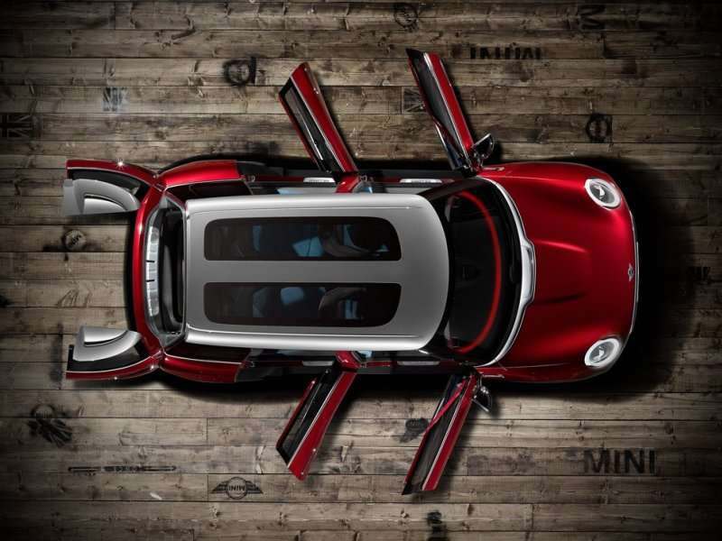 Geneva Motor Show: MINI Goes MAXI With The Clubman Concept