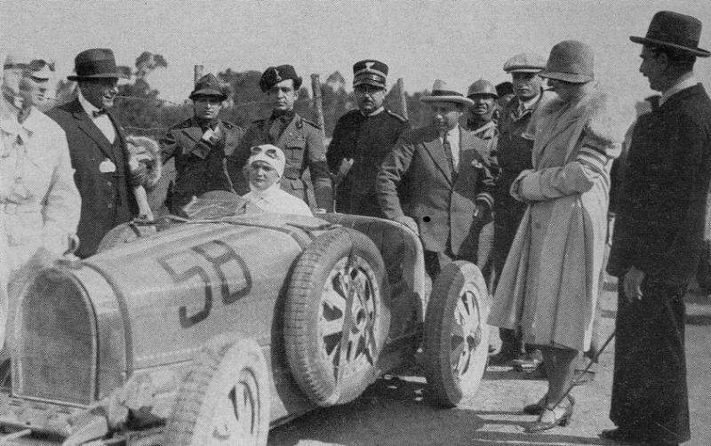 Next Bugatti Veyron Legend to Honor Female Racer?
