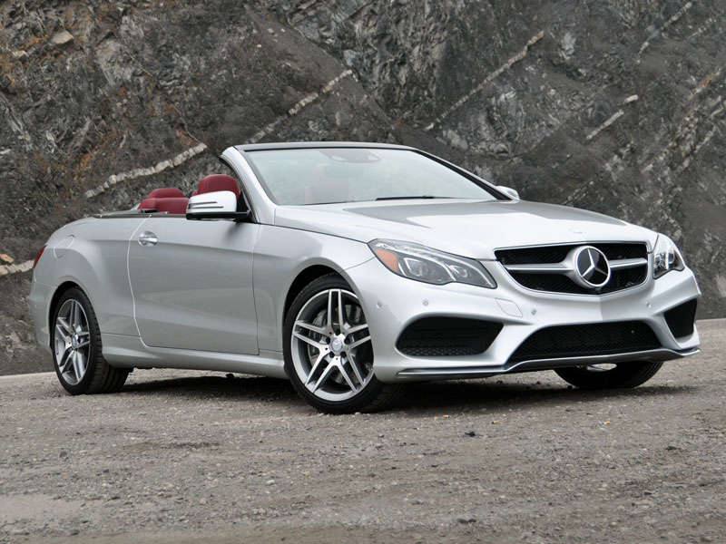 2014 Mercedes-Benz E-Class Cabriolet Luxury Convertible Review and Quick Spin