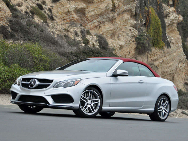 2014 Mercedes-Benz E-Class Cabriolet Photo Gallery
