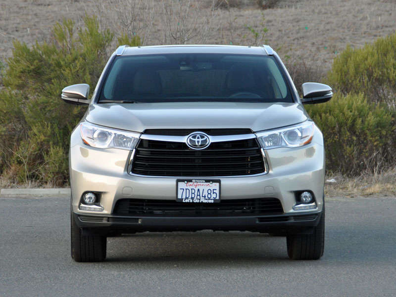 2014 Toyota Highlander Crossover SUV Road Test and Review