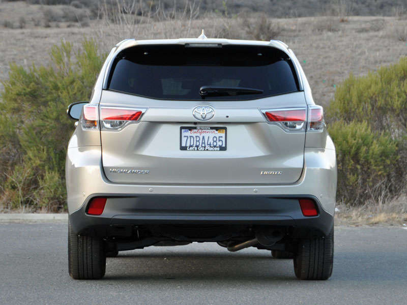 2014 Toyota Highlander Crossover SUV Road Test and Review: Final