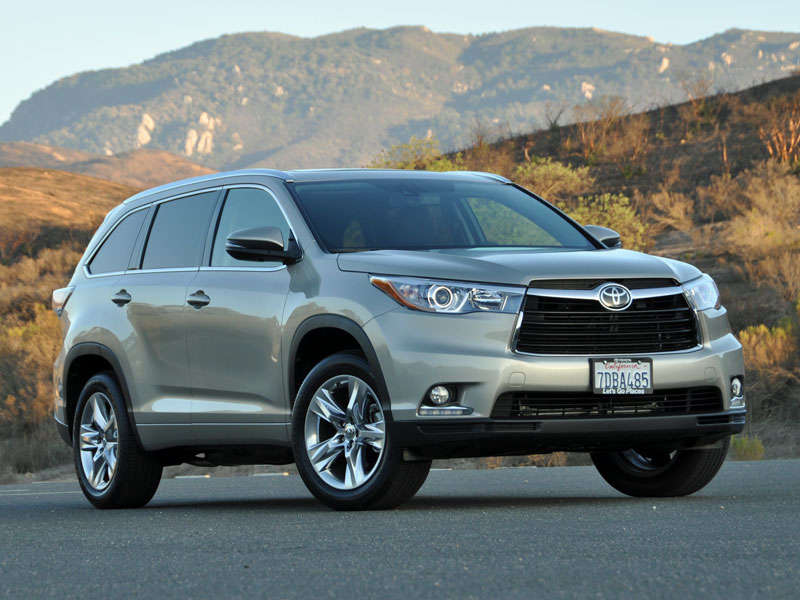 2014 Toyota Highlander Photo Gallery