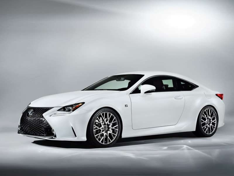 Geneva Motor Show: Lexus Reveals The RC 350 F Sport and RC F GT3 Racing Concept