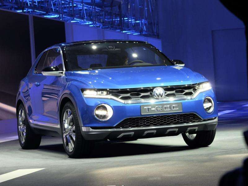 VW T-ROC Rolls into Geneva