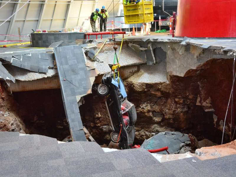 More Chevy Corvettes Rescued from Museum Sinkhole