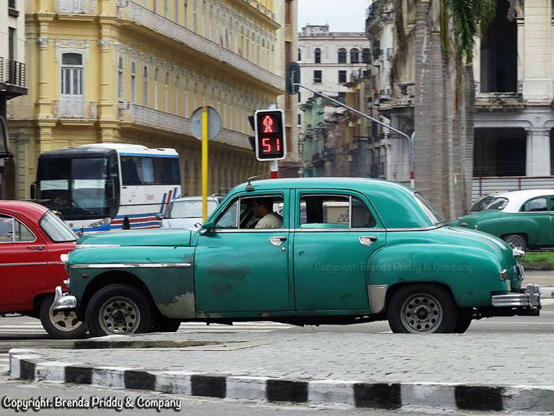 Check out the Cuban Classics with Famed Photog Brenda Priddy
