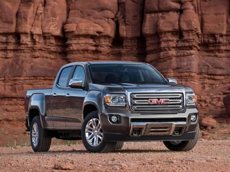 2015 Small Pickup Trucks