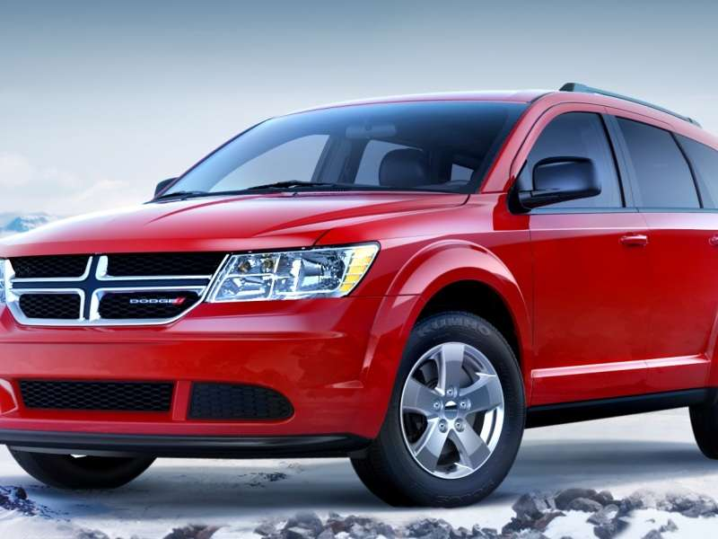2014 Dodge Journey Adds V6, AWD to SE Model