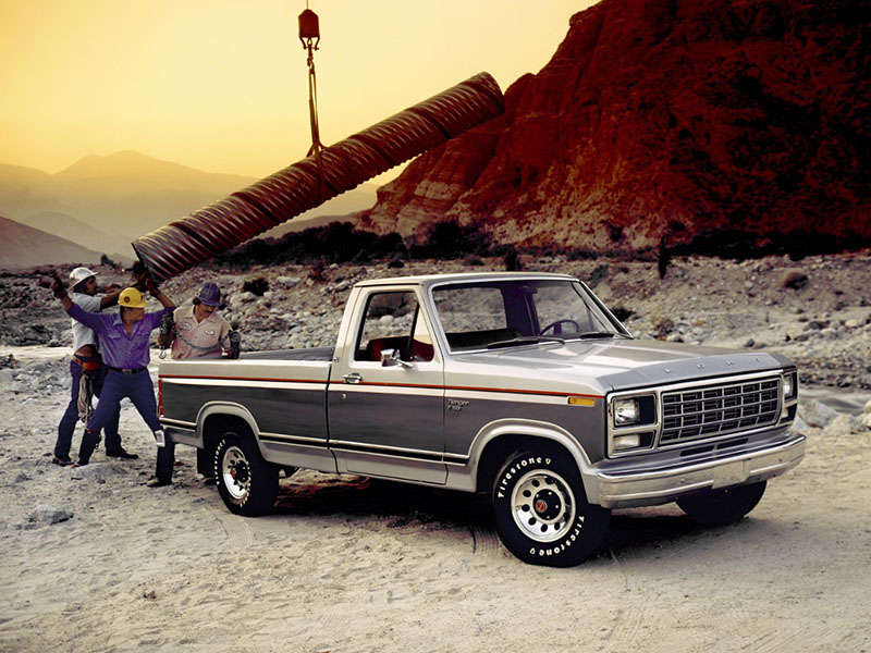 A History Of The Ford F 150 In Photos