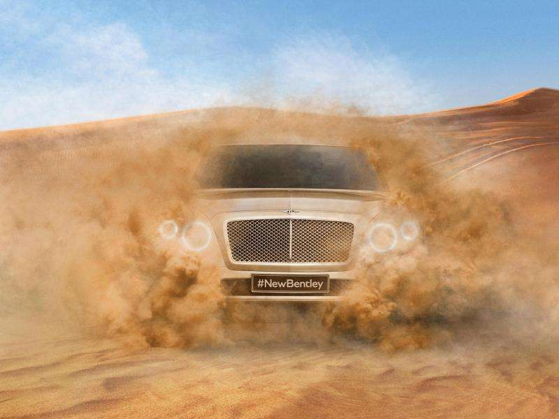 Bentley Teases Upcoming SUV
