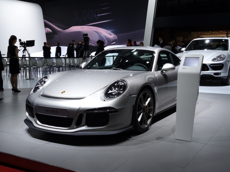 Porsche Announces Fix for 911 GT3 Fire Hazard