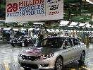 2014 Honda Accord Is 20 Millionth U.S.-Built Honda