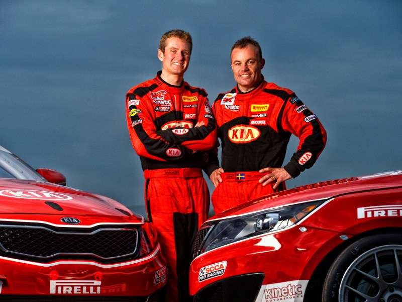 Jonsson, Wilkins Return to Drive 2014 Kia Optima Turbos in World Challenge