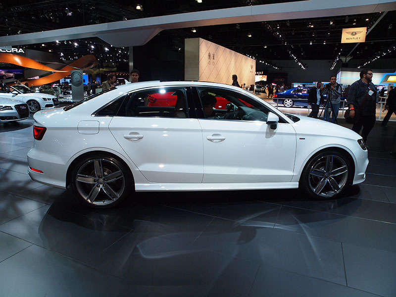 2015 Audi A3 Recognized as Top Safety Pick+