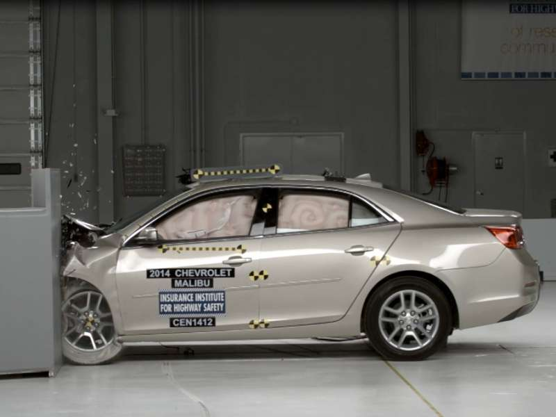 2014 Chevy Malibu Joins Top Safety Pick+ Club