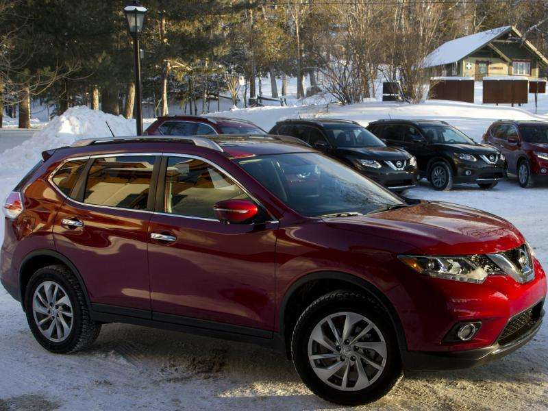 new car releases march 20142014 Nissan Rogue Brings Smart Rearview Mirror to New York