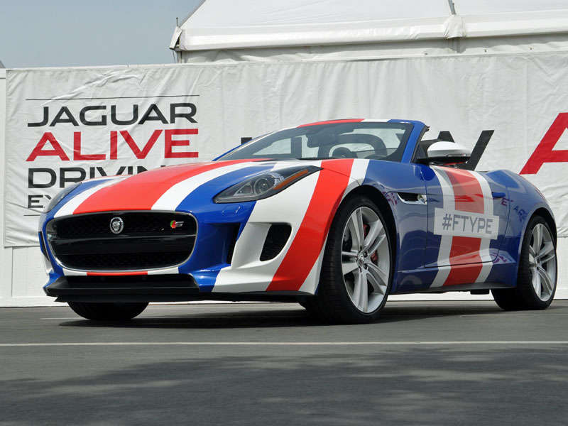 Jaguar ALIVE Driving Experience Puts Pampered Butts in Premium Leather Seats