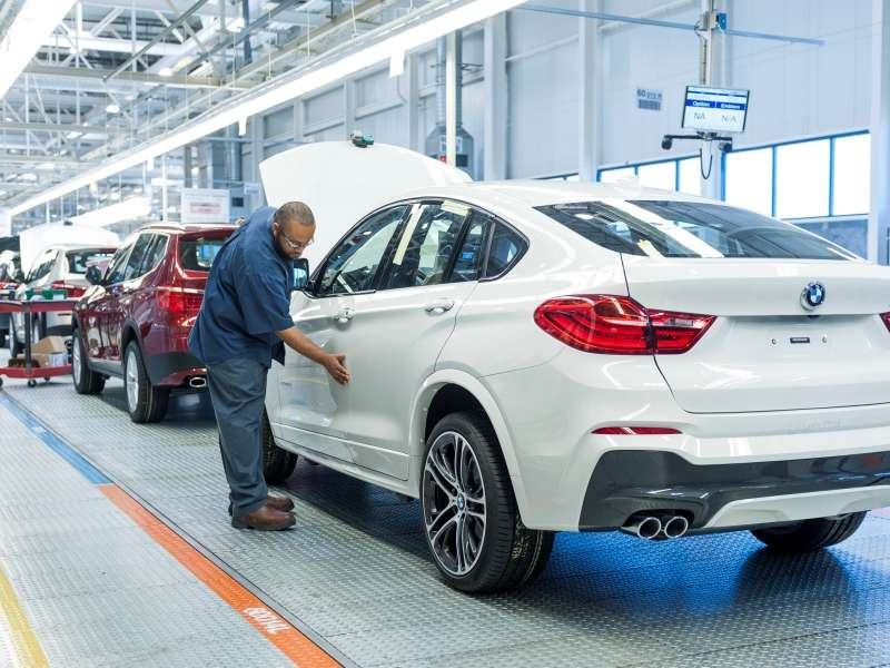 BMW Announces $1 Billion Investment Into Spartanburg Plant