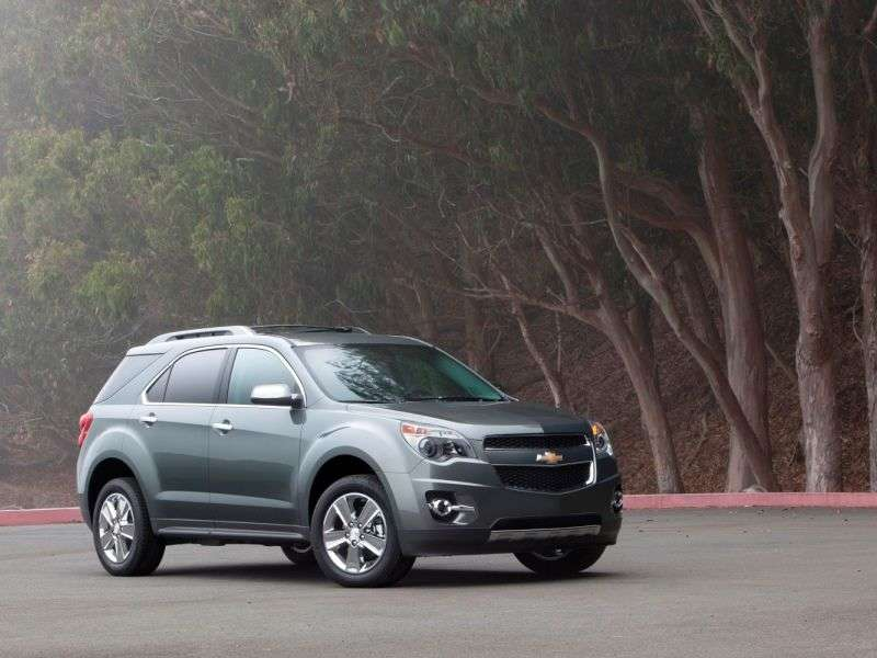 2014 Chevy Equinox Becomes Plus-prized Model