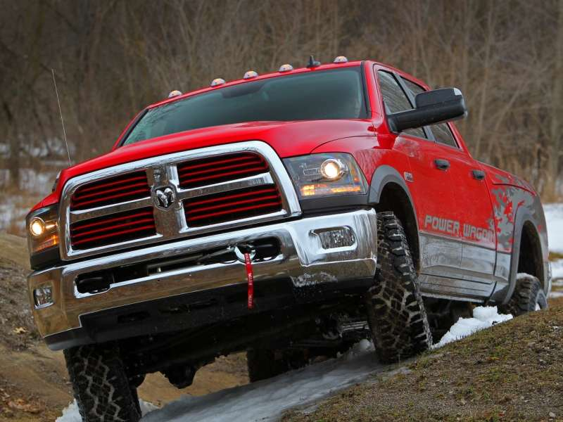 2014 Ram 2500 Power Wagon Premieres as Top Off-road Pickup