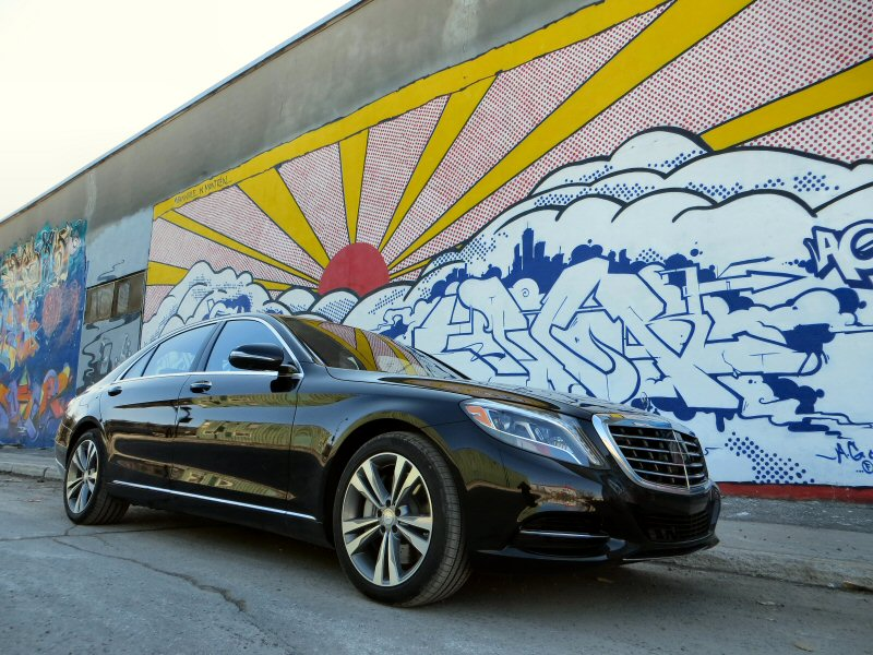 2014 Mercedes-Benz S550 4MATIC Luxury Sedan Review
