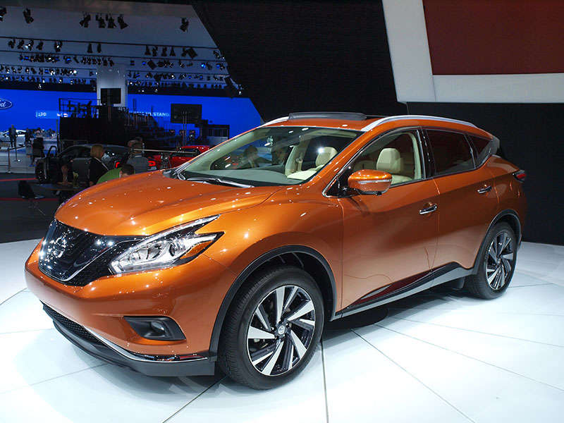 2015 Nissan Murano Preview: 2014 New York Auto Show