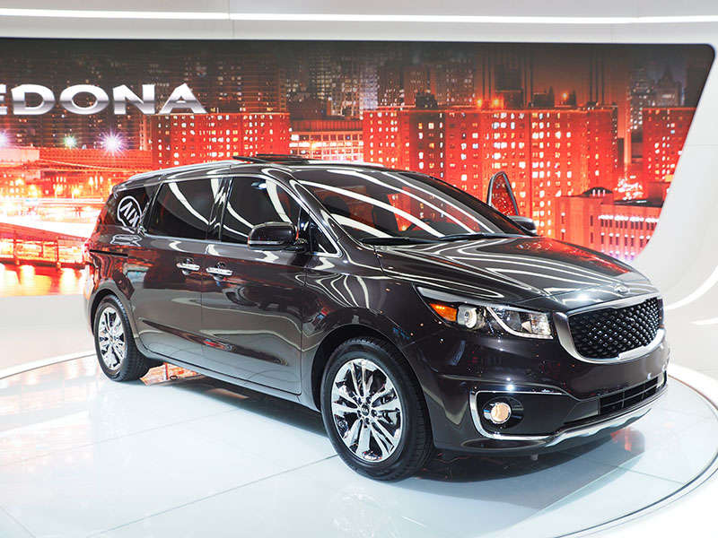2015 Kia Sedona Preview: 2014 New York Auto Show
