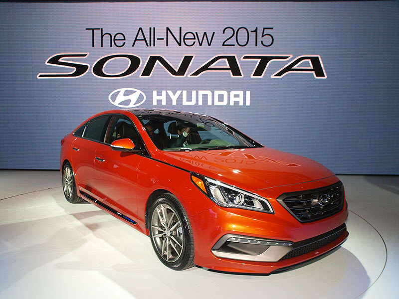 2015 Hyundai Sonata Preview: 2014 New York Auto Show