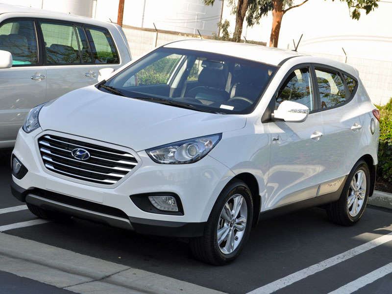 2015 Hyundai Tucson Fuel Cell Review And Quick Spin
