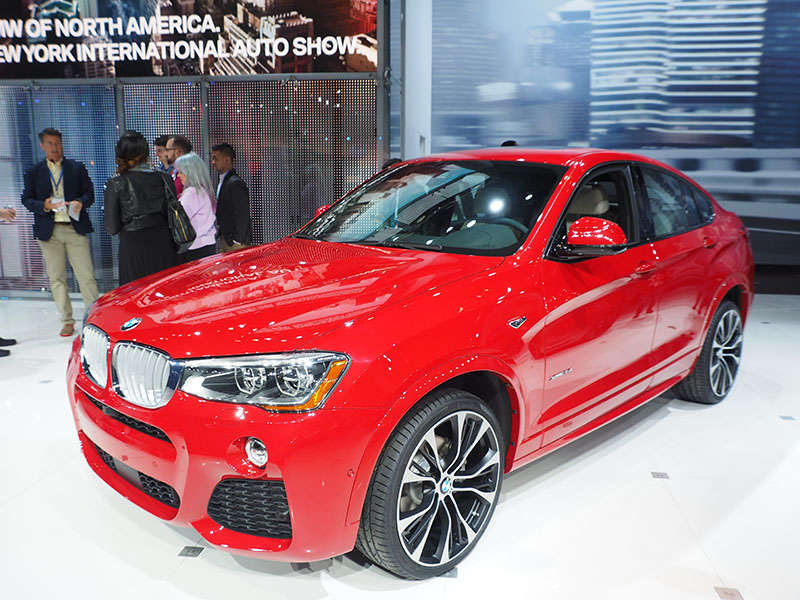 2015 BMW X4 Preview: 2014 New York Auto Show