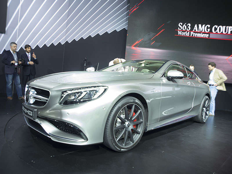 2015 Mercedes-Benz S63 AMG 4MATIC Coupe Preview: 2014 New York Auto Show