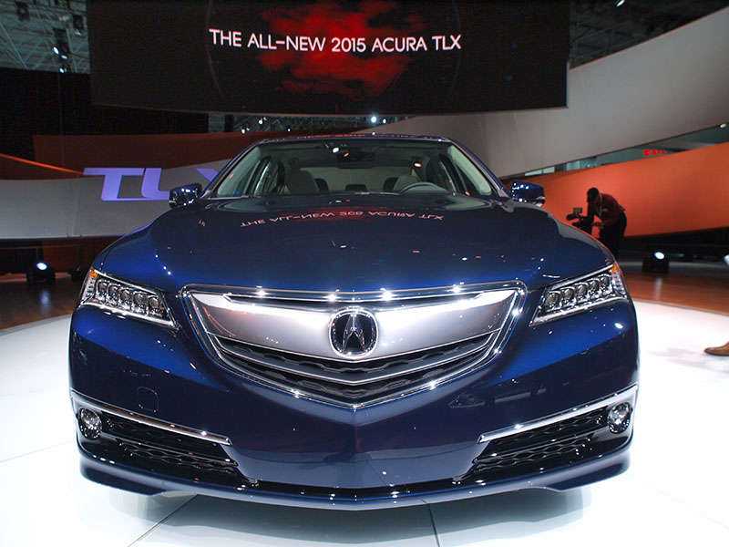 2015 Acura TLX Preview: 2014 New York Auto Show