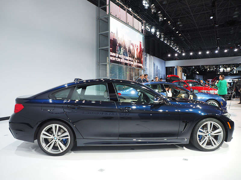 2015 BMW 4 Series Gran Coupe Preview: 2014 New York Auto Show
