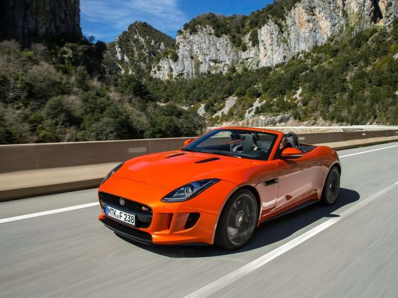 2014 jaguar f type v8s convertible road test and review autobytel. Cars Review. Best American Auto & Cars Review