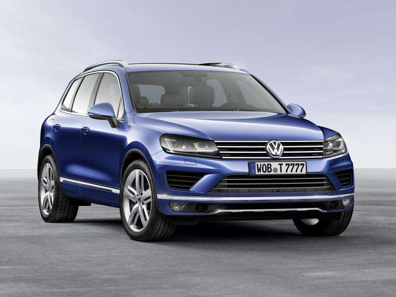 Redesigned 2015 VW Touareg Revealed in Beijing