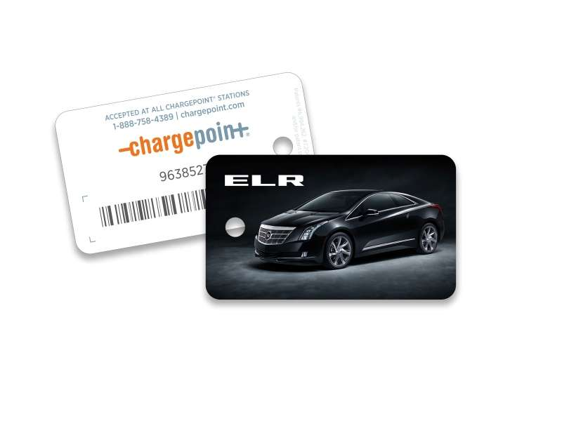 2014 Cadillac ELR Partners with ChargePoint