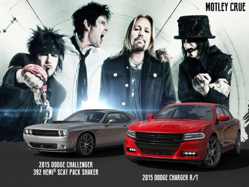 Crue Cab: Giveaway Offers Chance at 2015 Dodge Challenger or Charger