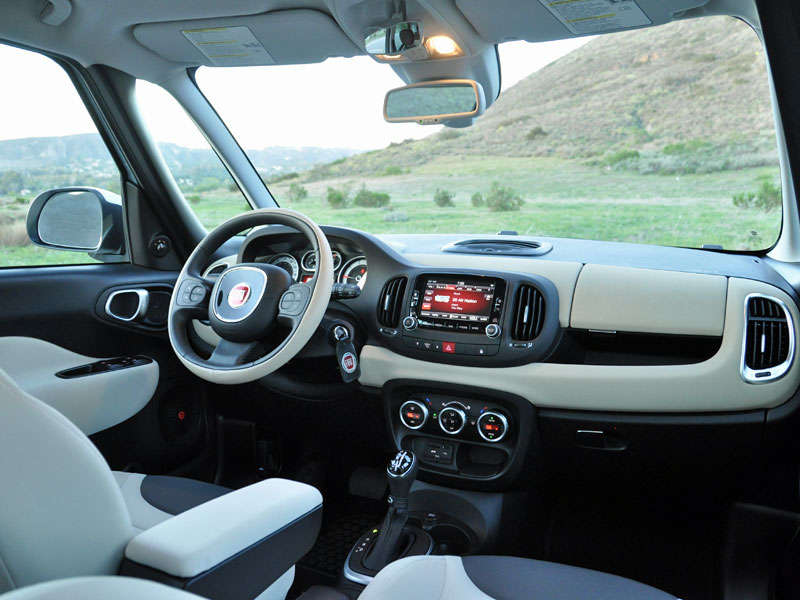 2014 fiat 500l review and road test. Black Bedroom Furniture Sets. Home Design Ideas